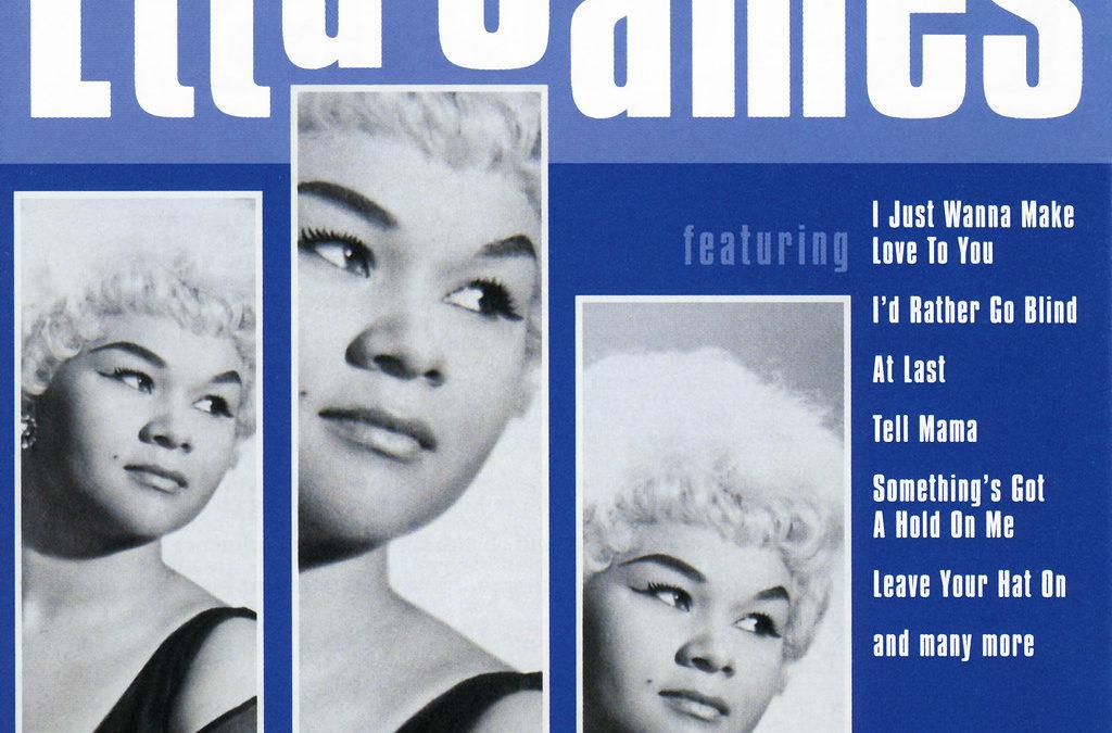 Chess queen: Etta James