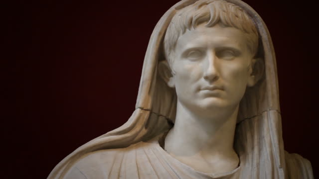 May you have the luck of Augustus, the first Emperor of Rome