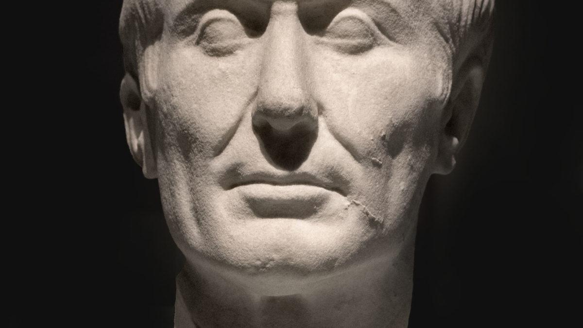 Examining Caesar's outward display of mercy